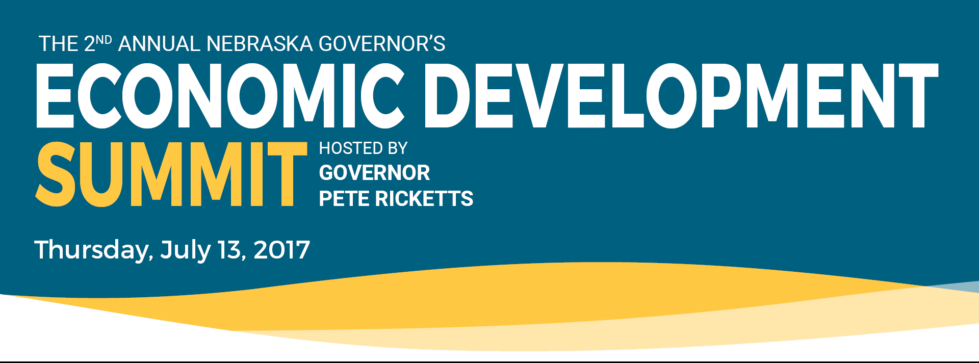 Quetica President, Rick Langer, Speaks at Nebraska's 2nd Annual Governor's Summit on Economic Development