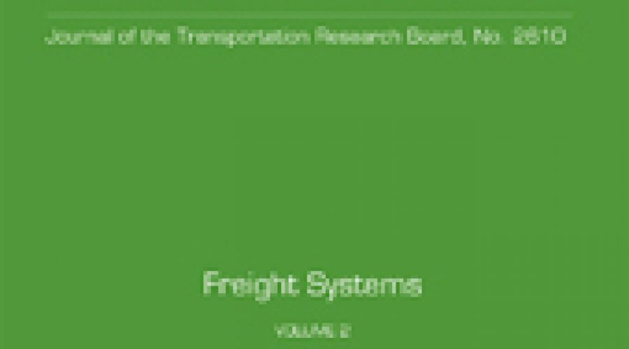 Ben Zietlow Recently Published in the Transportation Research Record