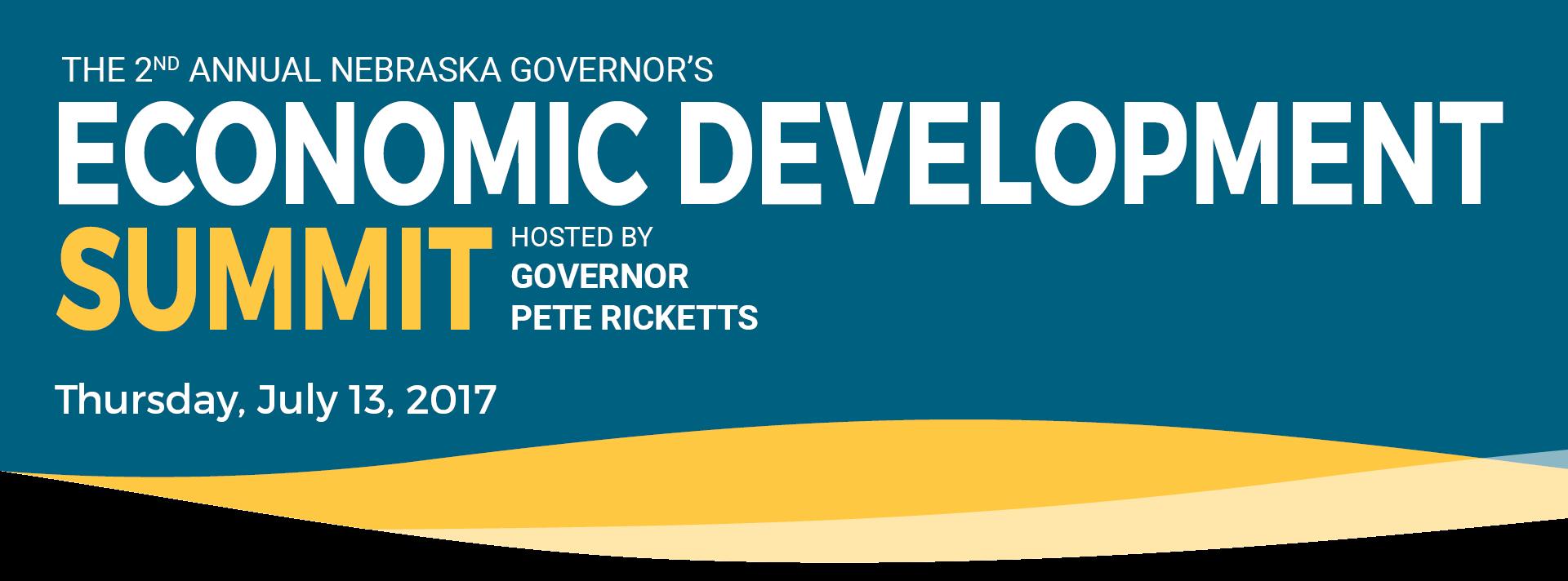 Quetica President, Rick Langer, Speaks at Nebraska's 2nd Annual Governor's Summit on Economic Development