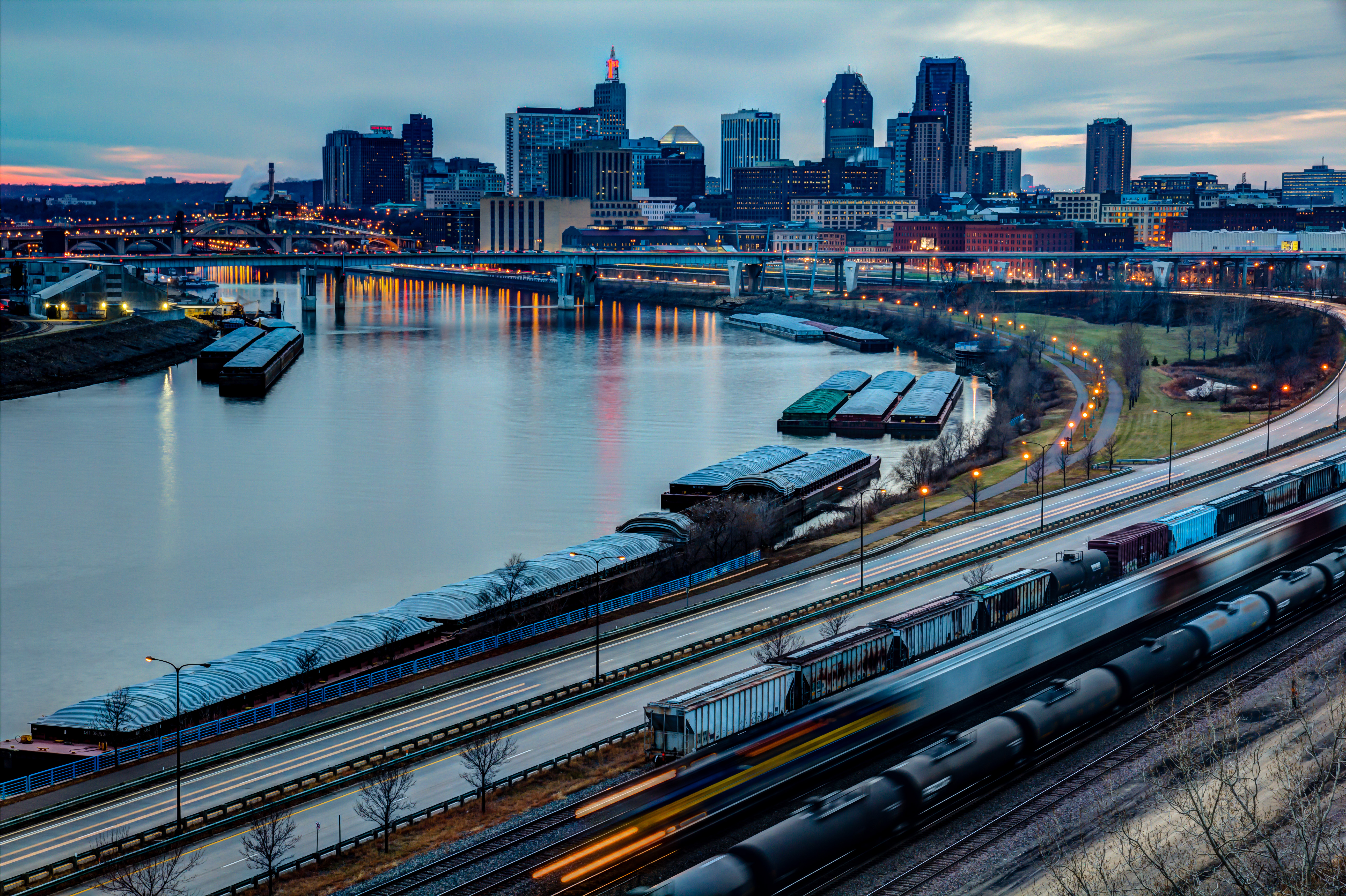 New PBS Documentary on the Current State of our Working River with the Saint Paul Port Authority